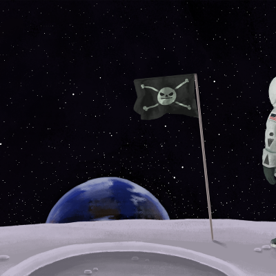Astronaut Flag (1920)